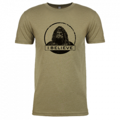 I Believe T-Shirt, Tan