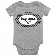 Rabbit Skins Jack Link's Onesie, Heather Gray