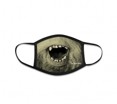 Sasquatch Face Mask