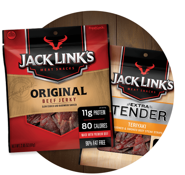 Jack Link's Jerky Packages