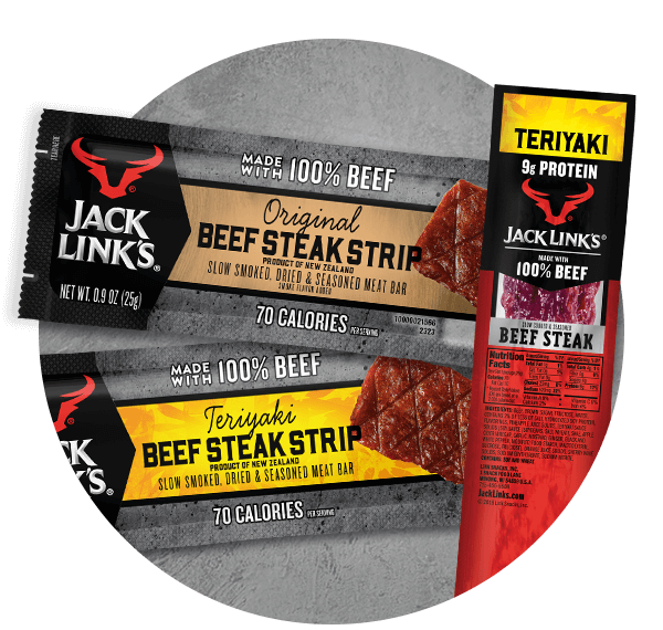 Jack Link's Steak Strips and Bars